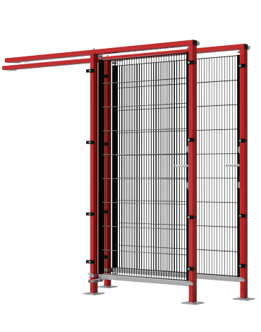 ECONFENCE HIGH LINE 1-leaf sliding doors